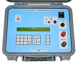 MODEL 505B CT ADMITTANCE TESTER