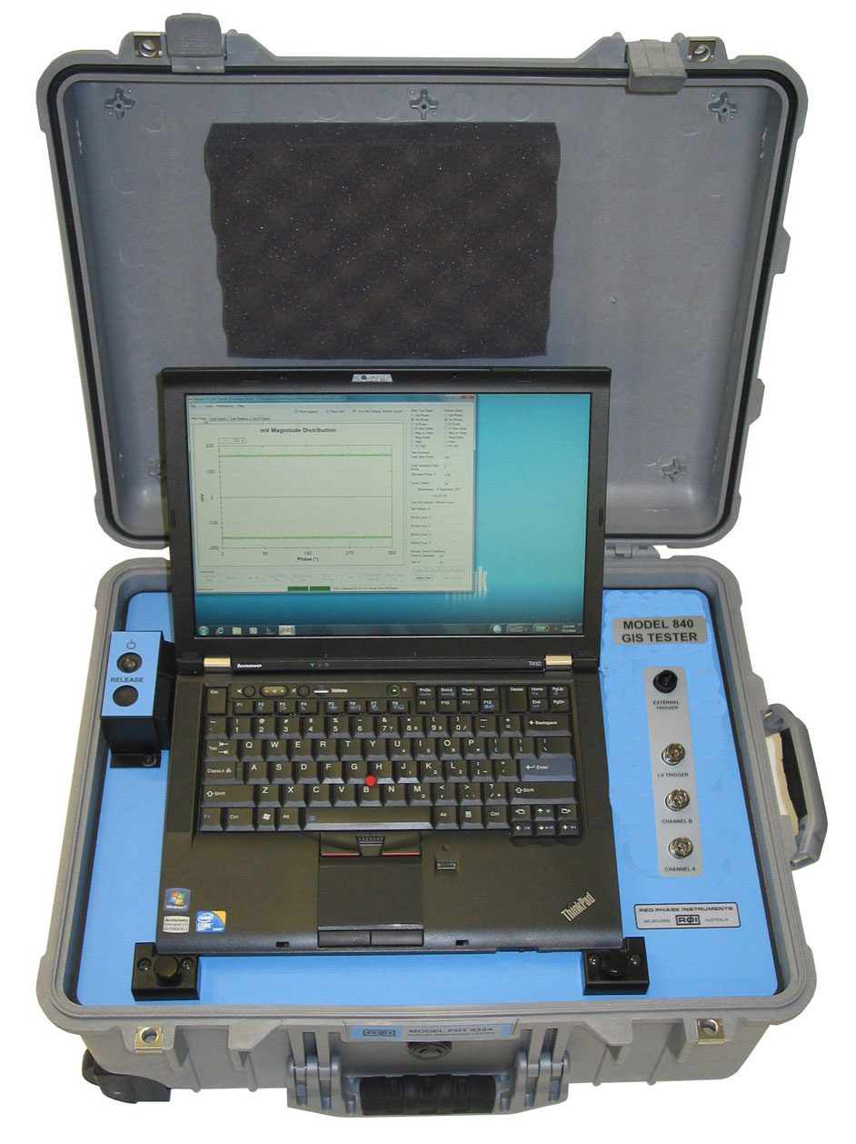 MODEL 840 AND 841 GIS PD TESTER