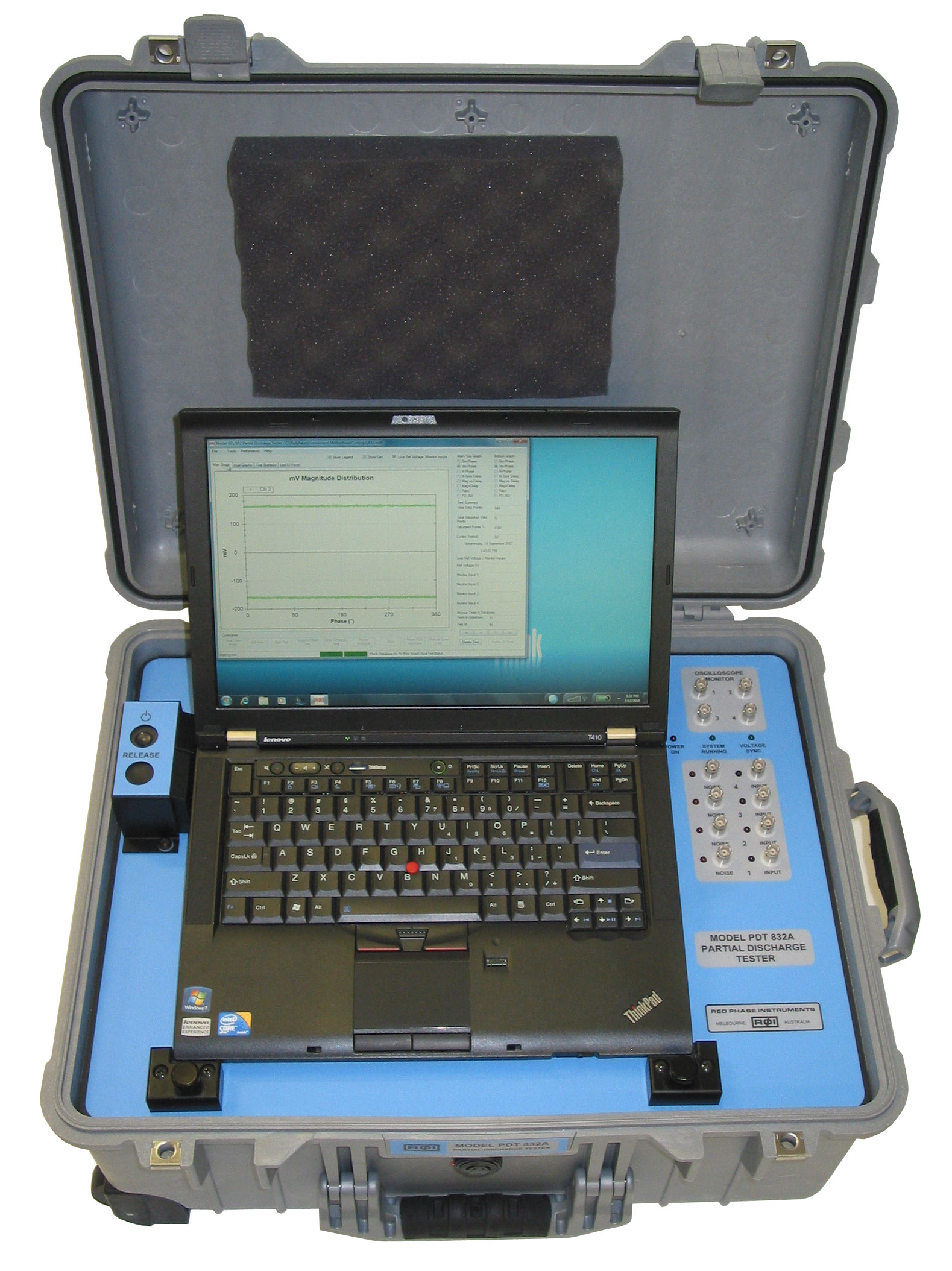 MODEL 832 PORTABLE PD TESTER